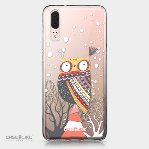 Huawei P20 case Owl Graphic Design 3317 | CASEiLIKE.com