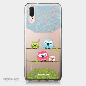 Huawei P20 case Owl Graphic Design 3318 | CASEiLIKE.com