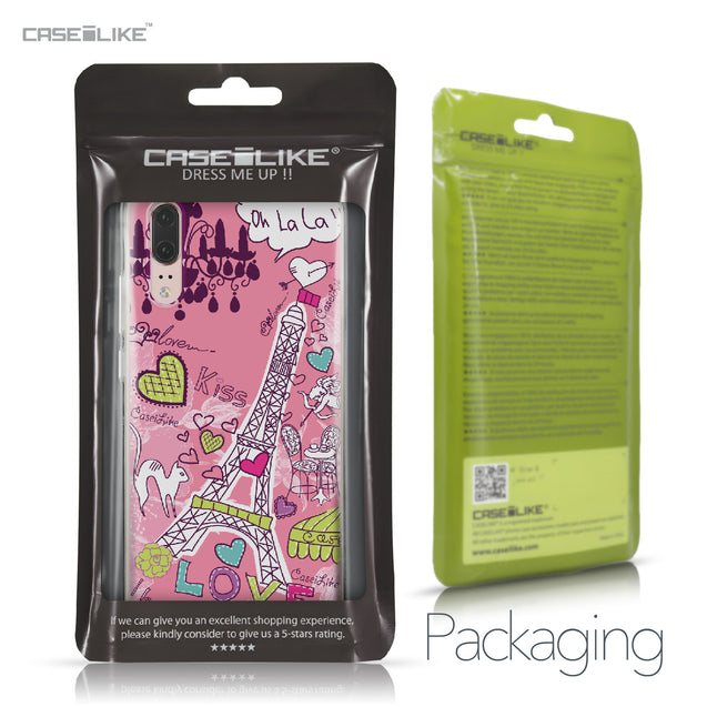 Huawei P20 case Paris Holiday 3905 Retail Packaging | CASEiLIKE.com