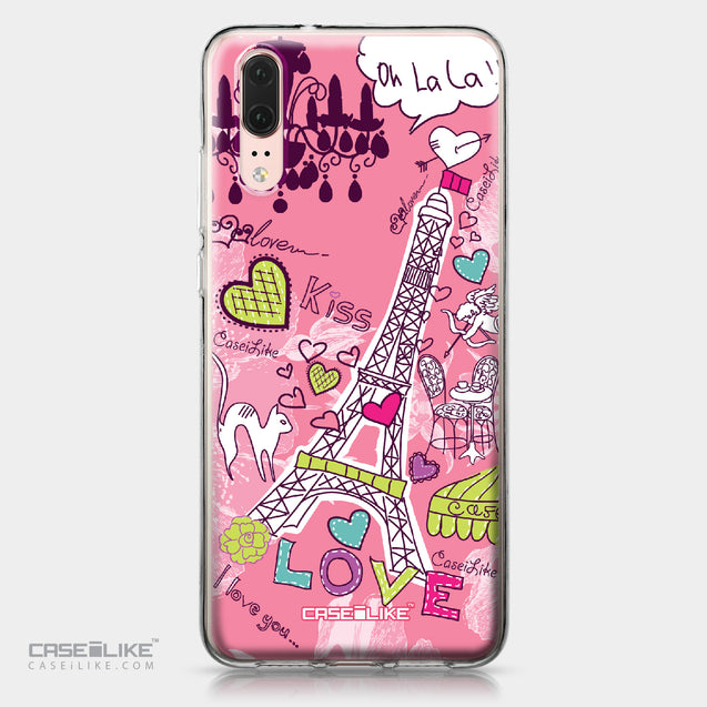 Huawei P20 case Paris Holiday 3905 | CASEiLIKE.com