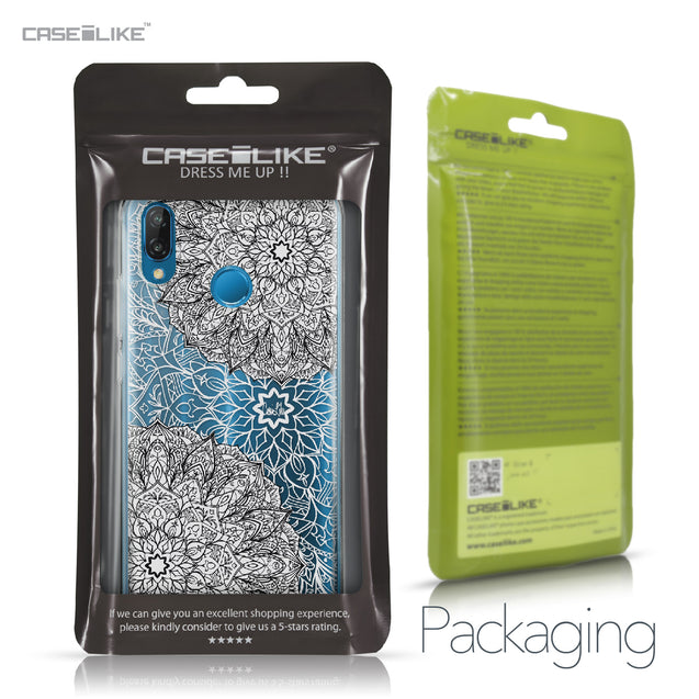 Huawei P20 Lite case Mandala Art 2093 Retail Packaging | CASEiLIKE.com