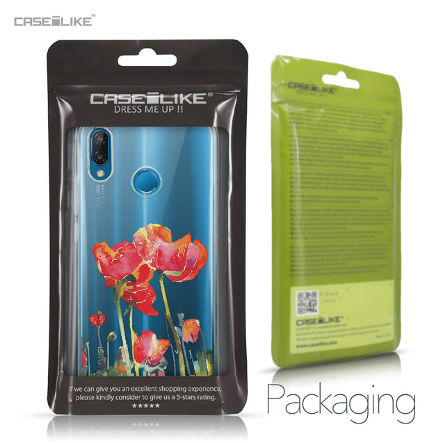 Huawei P20 Lite case Watercolor Floral 2230 Retail Packaging | CASEiLIKE.com