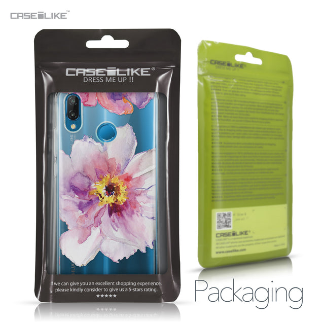 Huawei P20 Lite case Watercolor Floral 2231 Retail Packaging | CASEiLIKE.com