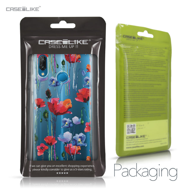 Huawei P20 Lite case Watercolor Floral 2234 Retail Packaging | CASEiLIKE.com