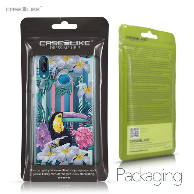 Huawei P20 Lite case Tropical Floral 2240 Retail Packaging | CASEiLIKE.com
