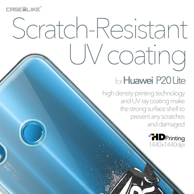 Huawei P20 Lite case Quote 2402 with UV-Coating Scratch-Resistant Case | CASEiLIKE.com
