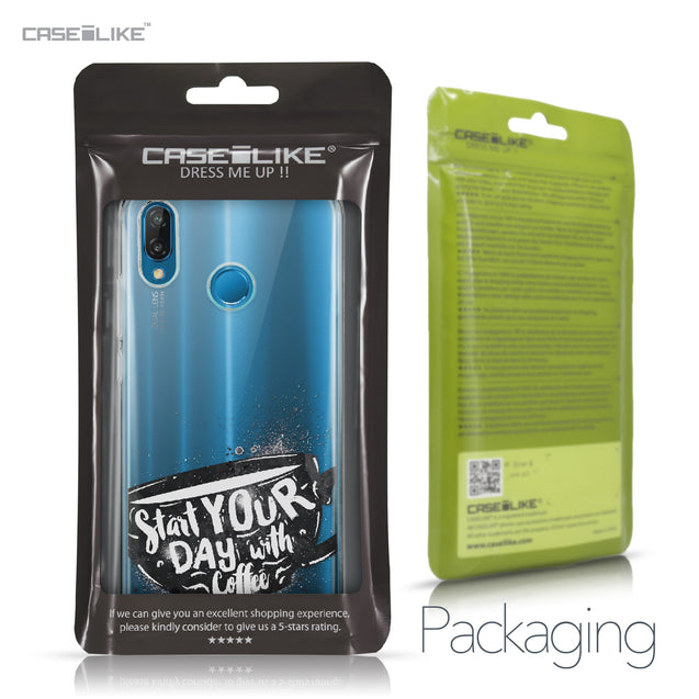 Huawei P20 Lite case Quote 2402 Retail Packaging | CASEiLIKE.com