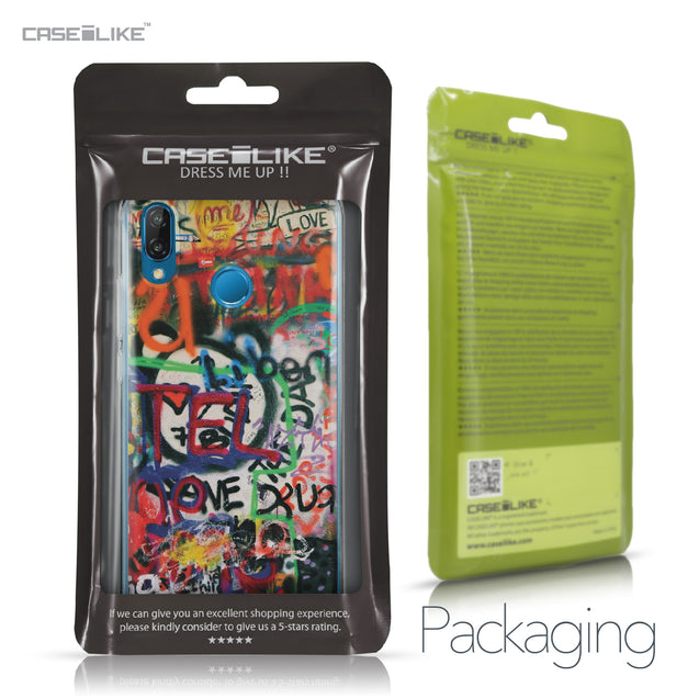 Huawei P20 Lite case Graffiti 2721 Retail Packaging | CASEiLIKE.com