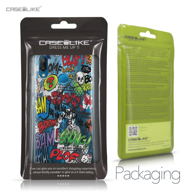 Huawei P20 Lite case Comic Captions 2914 Retail Packaging | CASEiLIKE.com