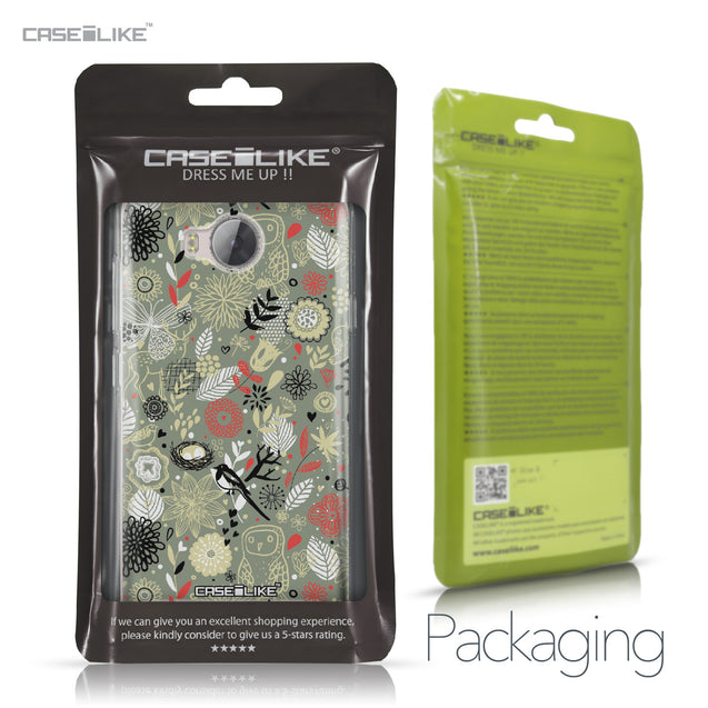 Huawei Y3 II case Spring Forest Gray 2243 Retail Packaging | CASEiLIKE.com