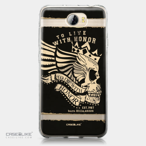 Huawei Y5 II / Y5 2 / Honor 5 / Honor Play 5 / Honor 5 Play case Art of Skull 2529 | CASEiLIKE.com
