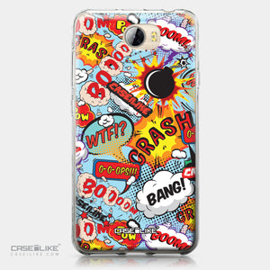 Huawei Y5 II / Y5 2 / Honor 5 / Honor Play 5 / Honor 5 Play case Comic Captions Blue 2913 | CASEiLIKE.com
