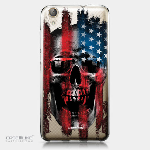 Huawei Y6 II / Honor Holly 3 case Art of Skull 2532 | CASEiLIKE.com