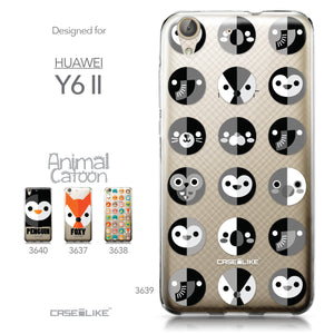 Huawei Y6 II / Honor Holly 3 case Animal Cartoon 3639 Collection | CASEiLIKE.com