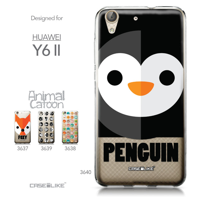 Huawei Y6 II / Honor Holly 3 case Animal Cartoon 3640 Collection | CASEiLIKE.com