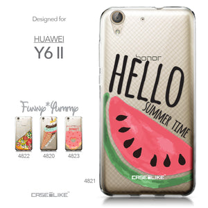 Huawei Y6 II / Honor Holly 3 case Water Melon 4821 Collection | CASEiLIKE.com