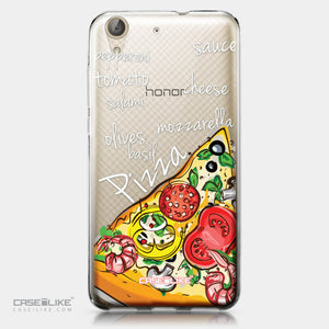 Huawei Y6 II / Honor Holly 3 case Pizza 4822 | CASEiLIKE.com