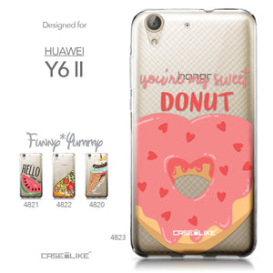 Huawei Y6 II / Honor Holly 3 case Dounuts 4823 Collection | CASEiLIKE.com