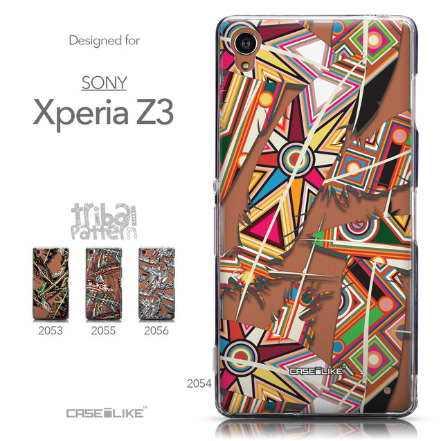 Collection - CASEiLIKE Sony Xperia Z3 back cover Indian Tribal Theme Pattern 2054