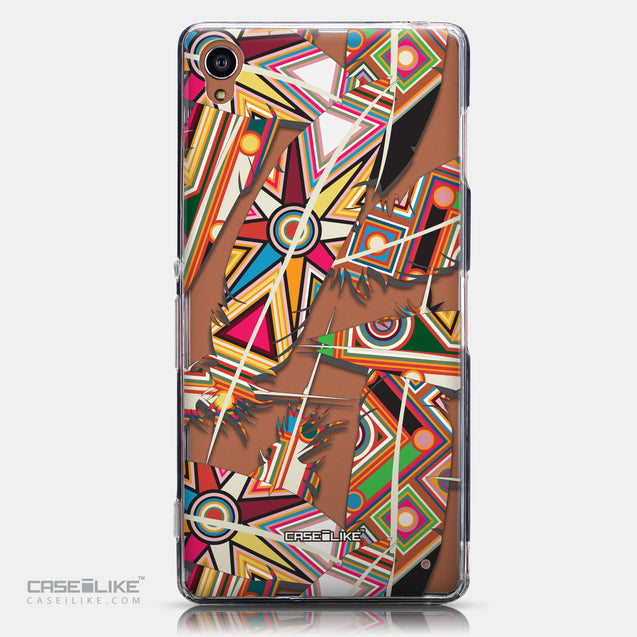 CASEiLIKE Sony Xperia Z3 back cover Indian Tribal Theme Pattern 2054