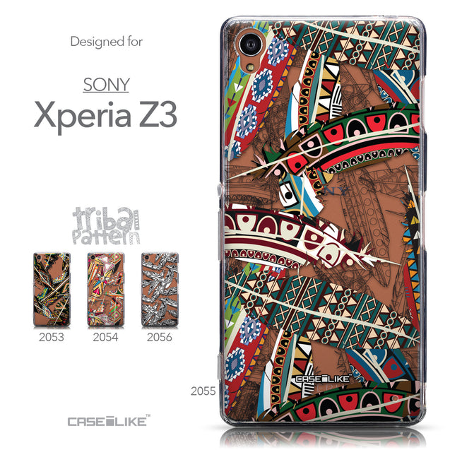 Collection - CASEiLIKE Sony Xperia Z3 back cover Indian Tribal Theme Pattern 2055