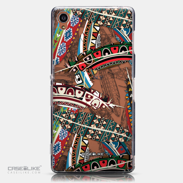CASEiLIKE Sony Xperia Z3 back cover Indian Tribal Theme Pattern 2055