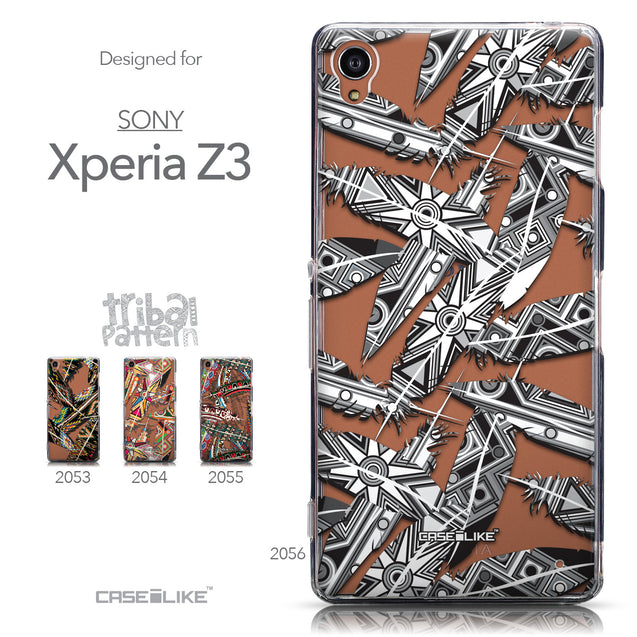 Collection - CASEiLIKE Sony Xperia Z3 back cover Indian Tribal Theme Pattern 2056