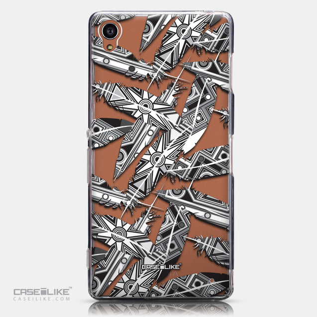 CASEiLIKE Sony Xperia Z3 back cover Indian Tribal Theme Pattern 2056