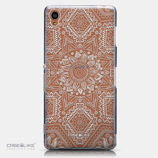 CASEiLIKE Sony Xperia Z3 back cover Indian Line Art 2061
