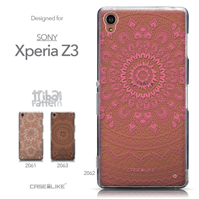 Collection - CASEiLIKE Sony Xperia Z3 back cover Indian Line Art 2062