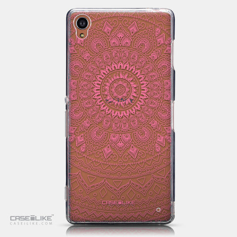 CASEiLIKE Sony Xperia Z3 back cover Indian Line Art 2062