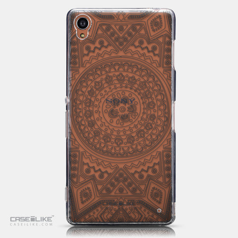 CASEiLIKE Sony Xperia Z3 back cover Indian Line Art 2063