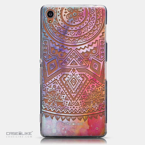 CASEiLIKE Sony Xperia Z3 back cover Indian Line Art 2065