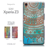 Collection - CASEiLIKE Sony Xperia Z3 back cover Indian Line Art 2066