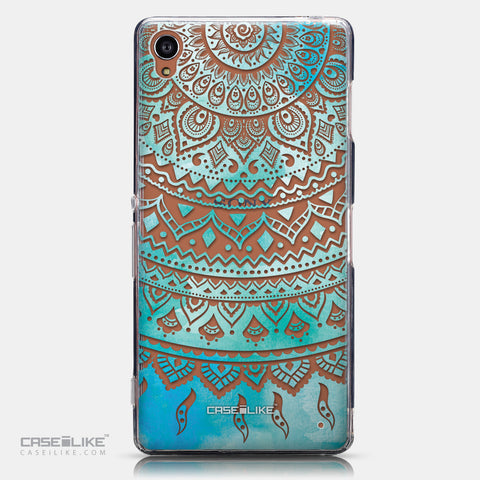 CASEiLIKE Sony Xperia Z3 back cover Indian Line Art 2066