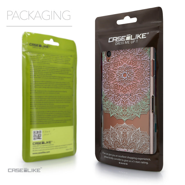Packaging - CASEiLIKE Sony Xperia Z3 back cover Mandala Art 2092