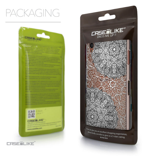 Packaging - CASEiLIKE Sony Xperia Z3 back cover Mandala Art 2093