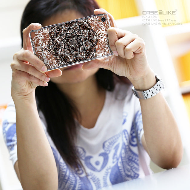 Share - CASEiLIKE Sony Xperia Z3 back cover Mandala Art 2097