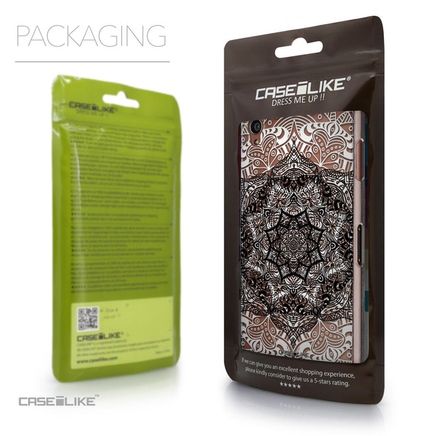 Packaging - CASEiLIKE Sony Xperia Z3 back cover Mandala Art 2097