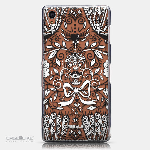 CASEiLIKE Sony Xperia Z3 back cover Roses Ornamental Skulls Peacocks 2227