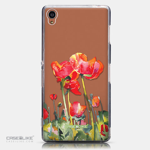 CASEiLIKE Sony Xperia Z3 back cover Watercolor Floral 2230