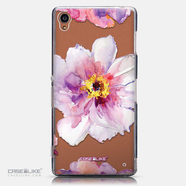 CASEiLIKE Sony Xperia Z3 back cover Watercolor Floral 2231