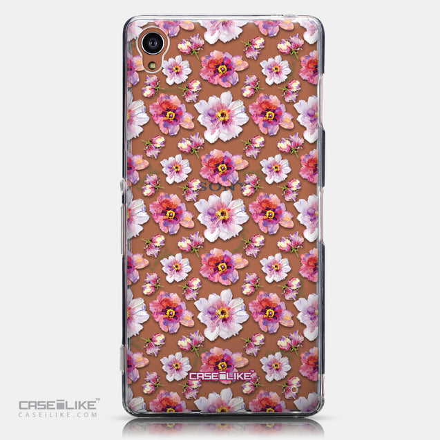 CASEiLIKE Sony Xperia Z3 back cover Watercolor Floral 2232