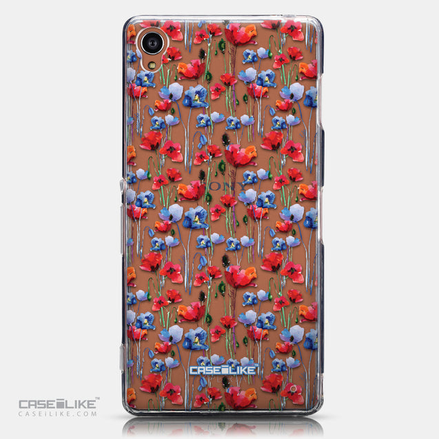 CASEiLIKE Sony Xperia Z3 back cover Watercolor Floral 2233