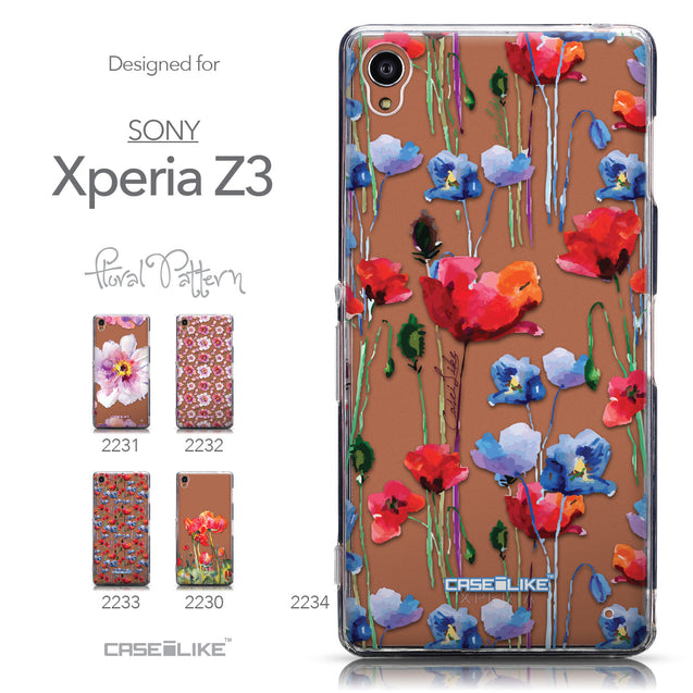 Collection - CASEiLIKE Sony Xperia Z3 back cover Indian Line Art 2061