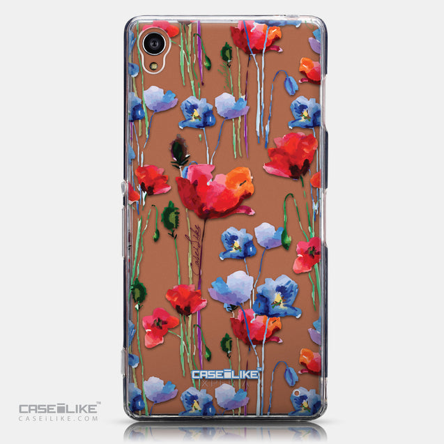 CASEiLIKE Sony Xperia Z3 back cover Watercolor Floral 2234