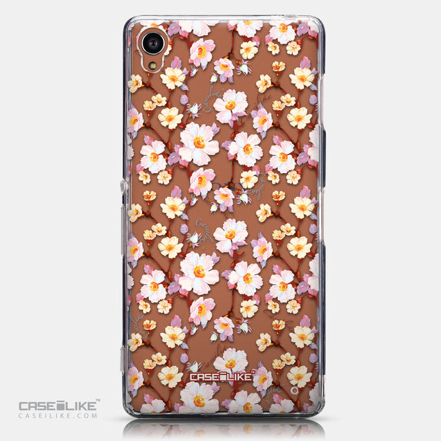 CASEiLIKE Sony Xperia Z3 back cover Watercolor Floral 2236