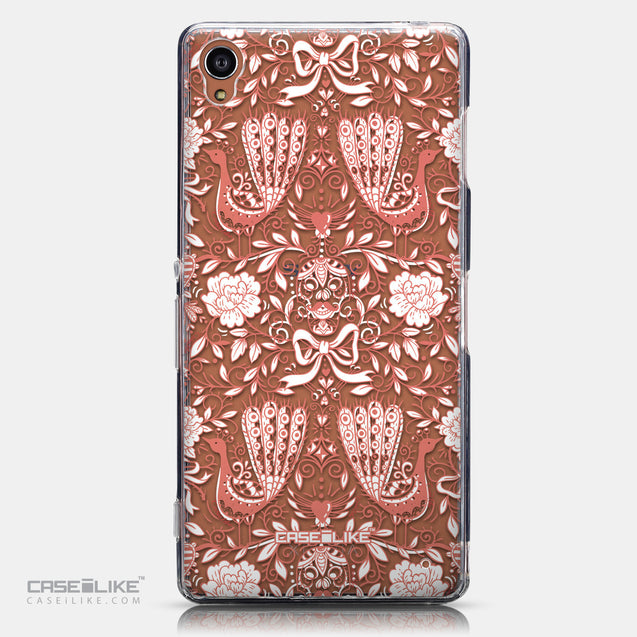 CASEiLIKE Sony Xperia Z3 back cover Roses Ornamental Skulls Peacocks 2237