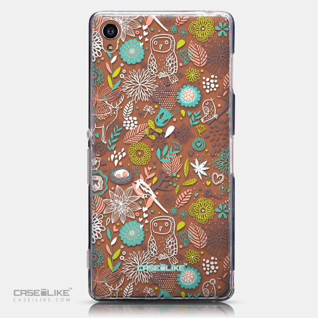 CASEiLIKE Sony Xperia Z3 back cover Spring Forest White 2241
