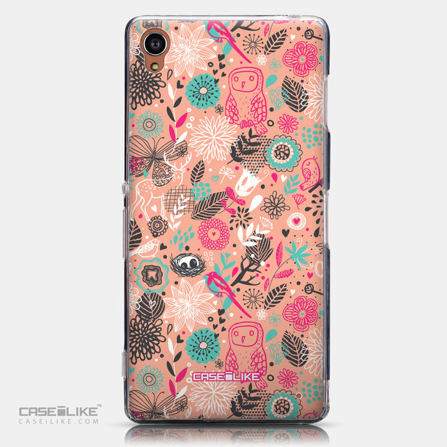 CASEiLIKE Sony Xperia Z3 back cover Spring Forest Pink 2242